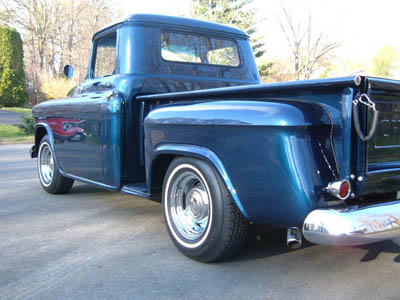 57 Chevy Truck - Rear 3/4