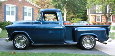 57 Chevy Truck - Side